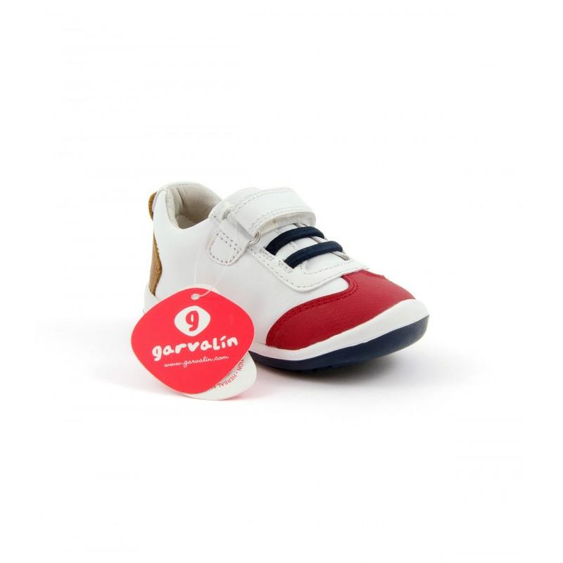 Con Y Elástico Garvalin Zapato Velcro lF3KJuT1c5